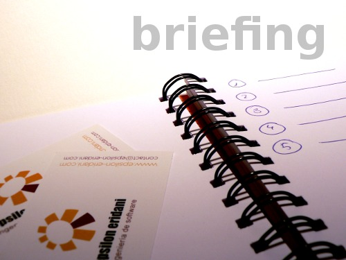 Identidad Visual Corporativa. Briefing. Informe inicial